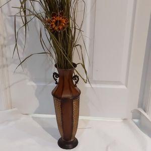 Elegant Expressions Large Metal Vase